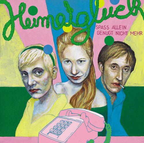 HEIMATGLÜCK Spass Allein Genügt Nicht Mehr LP (2011 Teenage Rebel) neu!