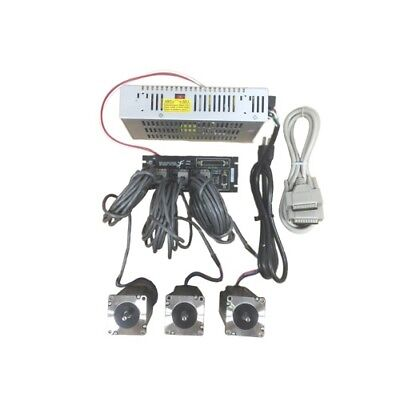 3 Axis Gecko G540 Kit With 381 Oz-in Stepper Motor 48v12.5a