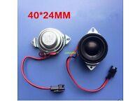 """2pcs 1.5"""" inch 8Ohm 8W Full Range Speaker Audio Stereo Woofer Horn Loudspeaker"""