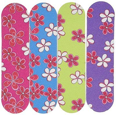 Mini Flower Emery Boards Nail Manicure Pedicure File Party Favor Gifts Prize LOT (Mini Emery Boards)
