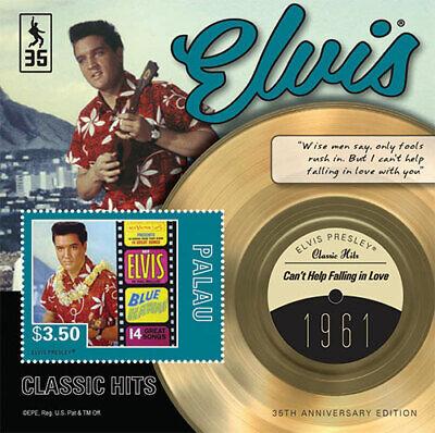 Palau - 2012 - Elvis 100 Top Hits - Souvenir Sheet - MNH