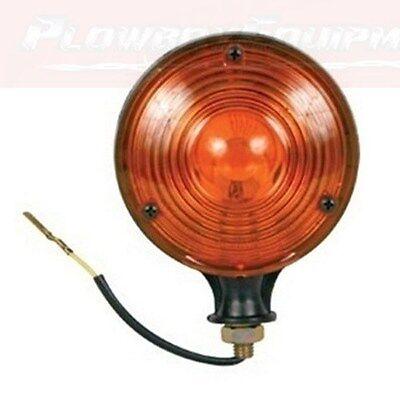Amber Warning Lamp Light 12v For Massey Case Ih Deere Allis Kubota Oliver White