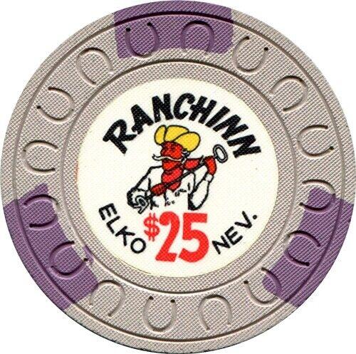 Ranchinn, Elko $25 Casino Chip MINT Condirion Rarity