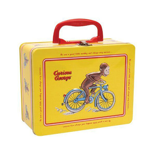 Curious George Tin Keepsake Box