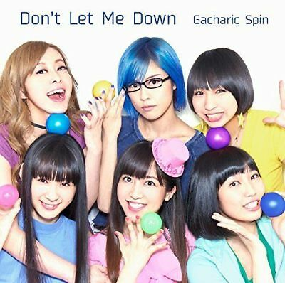 GACHARIC SPIN-DON'T LET ME DOWN-JAPAN CD+DVD Ltd/Ed