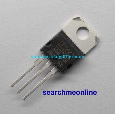10pcs Tip142t Tip142 Npn Power Transistor To-220