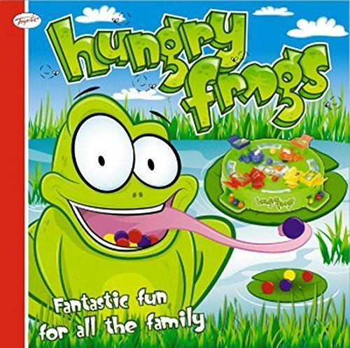 NEW+CHILDRENS+FAMILY+HUNGRY+FROGS+MARBLE+GRAB+GAME+CHRISTMAS+FROG