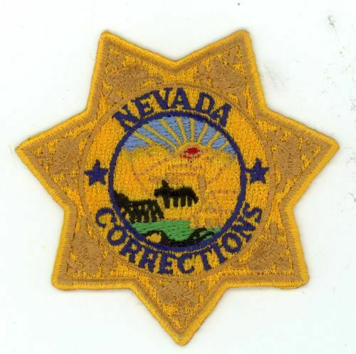 NEVADA CORRECTIONS NV NICE PATCH 3 INCHES POINT TO POINT POLICE SHERIFF
