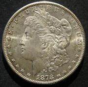 1878 Morgan Silver Dollar BU