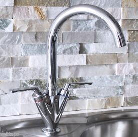 BRAND NEW KITCHEN SWIVEL TAP BOXED AND PACKAGED