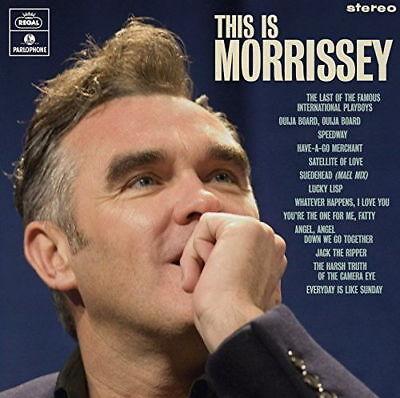 MORRISSEY THIS IS MORRISSEY LP VINYL (PRE-Release August 31st 2018)