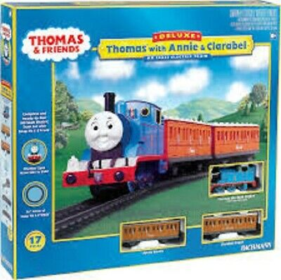 Bachmann 00642 Thomas the Tank Engine with Annie and Clarabel HO Scale