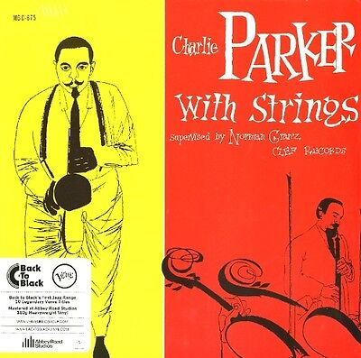 CHARLIE PARKER With Strings LP Vinyl NEW 2013 Jazz