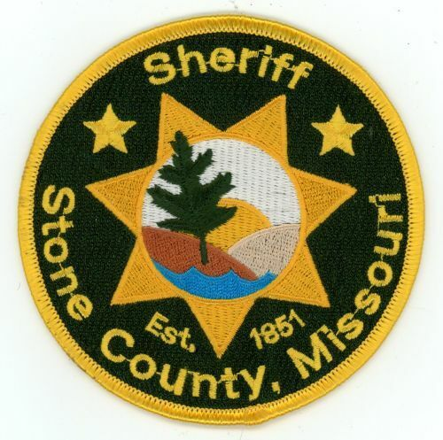 STONE COUNTY SHERIFF MISSOURI MO NEW PATCH POLICE