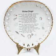 Kitchen Prayer Plate