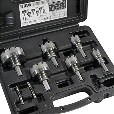 Klein Tools 8-piece Master Electricians Hole Cutter Kit With Carbide Tip31873
