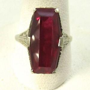 49cb49c2a Antique Vintage Ruby Ring