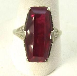 Antique Ruby Ring Ebay