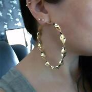 Large Gold Earrings