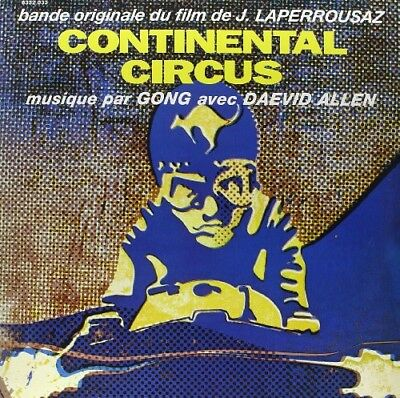 Gong - Continental Circus [New Vinyl LP] France - Import