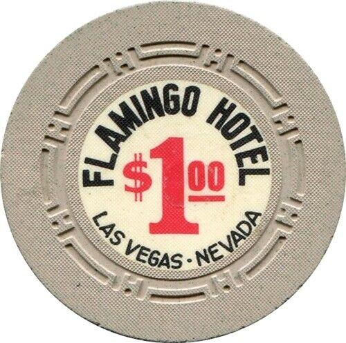 Flamingon Hotel, Las Vegas $1.00 Casino Chip NR MINT