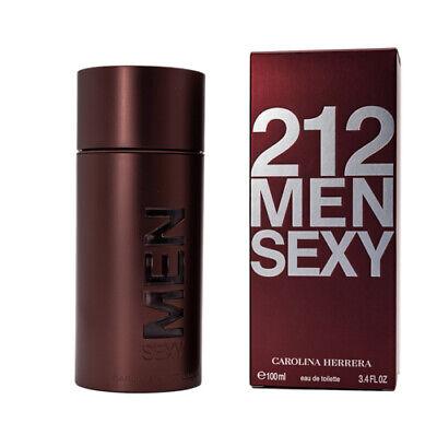 212 Sexy by Carolina Herrera 3.4 oz EDT Cologne for Men New In Box