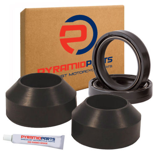 Pyramid Parts Fork Oil Seals & Boots fits Honda CB550 K 74-78
