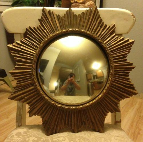 Sunburst Convex Mirror Ebay