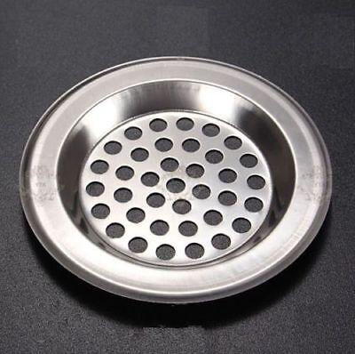 1 x Metal Sink Strainer Bath Tub Basin Plug Hole Filter Kitchen Bathroom WC