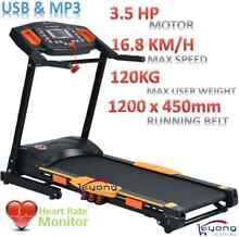 Electric Treadmill 3.5HP Running Belt Exercise Machine Clayton South Kingston Area Preview