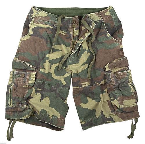Military Style Cargo Shorts