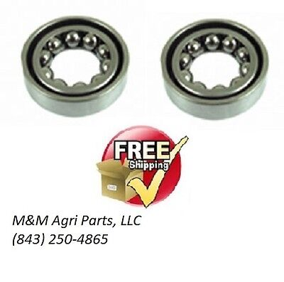 Steering Shaft Bearings Pair Yanmar John Deere Kubota Mitsubishi Tractor