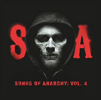 Songs Of Anarchy Vol  4 Cd Brand New Music From Sons Of Anarchy