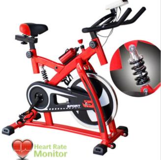 Spin Bike(Red, Black)