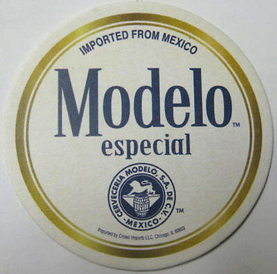 MODELO ESPECIAL CERVEZA, Now On Draft Beer COASTER, Mat with LION, (Modelo Now)