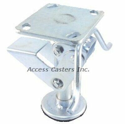8pstfl 8 Floor Lock With Handle Foot Operated 3-1516 X 4-12 Top Plate