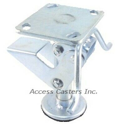 5pstfl 5 Floor Lock With Handle 3-1516 X 4-12 Plate Foot Operated