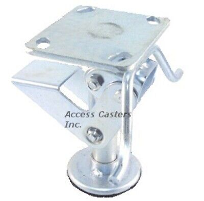 4pstfl 4 Floor Lock With Handle Foot Operated 3-1516 X 4-12 Plate