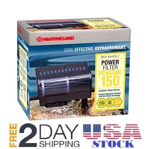 Marineland Penguin Power Filter for 20 to 30gal Aquariums 15