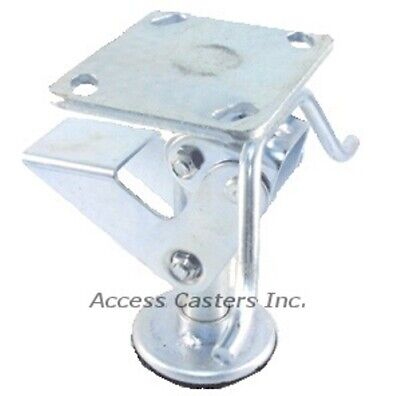 6pstfl 6 Floor Lock With Handle Foot Operated 3-1516 X 4-12 Plate
