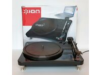 Ion Contour LP Compact Vinyl to MP3 Turntable