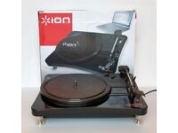 Ion Contour LP Compact Vinyl to MP3 Turntable.