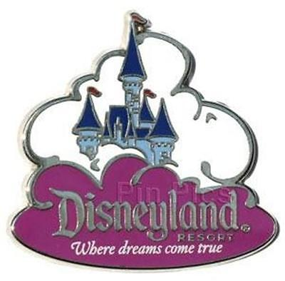 Aaa Travel Castle In The Clouds Purple Disneyland Pin Dreams Come True