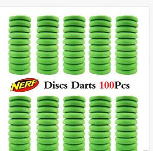 50pcs Disc Refill in Bulk  for NERF Blaster NITRON PROTON VIGILON Vortex Praxis