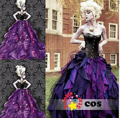 The Little Mermaid Cos Dress Sea Witch Ursula Princess Dress Cosplay