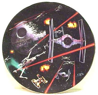 Star Wars Space Battle China Plate, 1986, Hamilton
