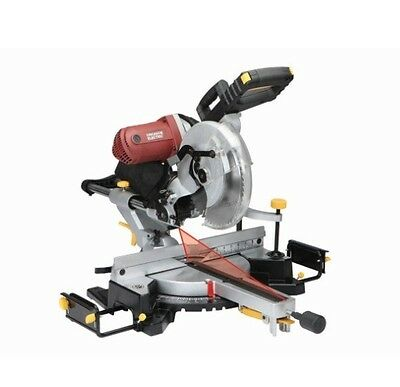"12"" In Double-Bevel Sliding Compound Miter Saw With Laser Guide System(Comp$399)"