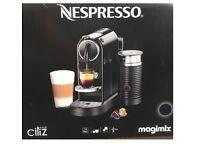 Magimix Citiz&Milk M195 Nespresso Machine - Black BRAND NEW UNOPENED R.R.P.£200