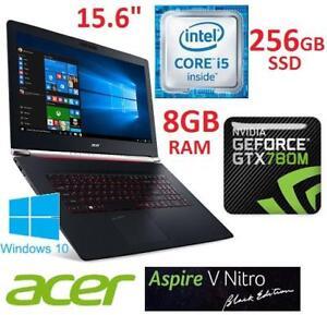 NEW OB ACER ASPIRE NITRO 15.6 PC NH.G6JAA.005 145067264 I5 6300HQ 8GB RAM 256GB SSD WIN 10 GTX 960M GPU LAPTOP COMPUT...
