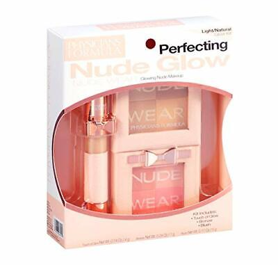 NIB Physicians Formula Bronzing Makeup Kit, Perfecting Nude Glow, Light/Natural (Nude Makeup Kit)